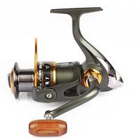 Bobine de filature de bobine de métal de 11 roulements 5.2: 1 bobine de pêche de carpe s'attaquer pour la roue de poissons DK