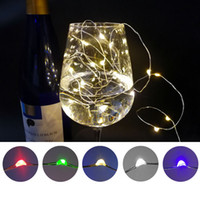 Led Copper Wire String Light Colorful Waterproof Holiday Lig...