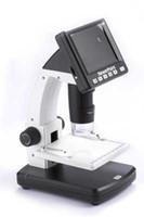 ALDXM6-038, con microscopio electrónico de pantalla, microscopio digital, software de medición de cinta, grabación, soporte de elevación, soporte para sistema Apple