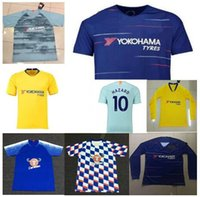 Best quality #10 HAZARD soccer jersey home away PEDRO DAVID ...