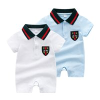 Retail New Summer Baby Boys Romper style Short Sleeve infant...