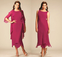New Arrival Plus Size Mother Of The Bride Dresses With Jacke...