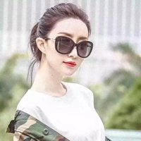m086523 Sunglasses For Women Summer Oval Style Coating Mirro...