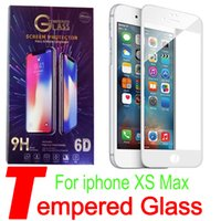For Iphone 4. 7 5. 5 ix xr XS Max XR Full Cover Tempered Glass...