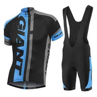 2018 Pro GIANT Cycling Jersey Suit Cycling Set MTB Bicycle W...