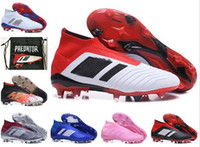 info for 8c36c a38f0 Zapatos de fútbol para hombre para niños Predator 18+ Tacos de fútbol Tacos  de tierra