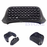 Portable Wireless Gaming Keyboard USB 2. 4G Wireless Chatpad ...