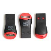 الجملة 1000pcs / lot USB 2.0 MicroSD T-Flash TF قارئ بطاقة الذاكرة صافرة نمط الشحن المجاني