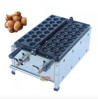 Yeni Ticari Gaz Güney Kore Ceviz Kek Makinesi Popüler Ceviz Kek Makinesi Paslanmaz Çelik Ceviz Waffle Makinesi Mini Waffle Makinesi