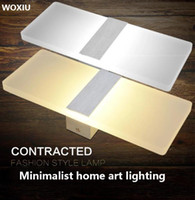 WOXIU led wall Lights Vintage modern Light Sconce Pair Fixtu...