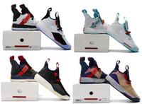 XXXIII 33 Yeşim Guo Ailun PE 33s Kutusu Ile Görünür Yardımcı Programı Karartma Basketbol ayakkabı Ücretsiz Kargo