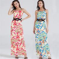 028842429aebf Wholesale hippie tunics dresses for sale - Spring Summer Women Dress  Elegant Gown Long Hippie Boho
