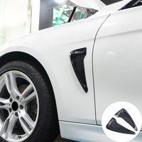 Für Cadillac SRX XTS SLTS CTS ATS XT6 TPU Vorderradschutzblech Seitliche Lüftungsblende Trim Aufkleber Shark Gills Seitenblende Aufkleber Autozubehör