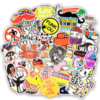 800 PCS Random Waterproof JDM Stickers Toys for Kids DIY Bumper Bicycle Laptop Luggage Guitar Skateboard Sound Box Lot of Styles Car Decals