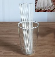 Glass Drinking Straws Wedding Birthday Party Bar Tools Reusa...