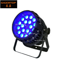 LED 18x12W Impermeable Zoom Par Light RGBW 4In1 Color Leds Funda de aluminio Función de zoom IP65 Luz de escenario Sin ruido Certificado CE
