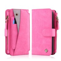 2in1 Multifunction Wallet Phone Case for iPhone X 6 7 8 Plus...