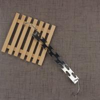Eisen Kleiderbügel Edelstahl Zwei einfache magische Haupteinrichtungsartikel Multifunktionskleidung Racks Qualität 5 8cn seitig V