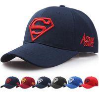 Frühling und Herbst Neue Stil Sonnenschirm Hut Männer Und Frauen Liebhaber Superman Baseballmütze Mode Golf Mütze