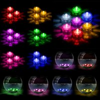 Underwater Lights LED Candle Lights Submersible Tea Light Wa...