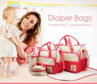 5 in 1 Mummy Essential Diaper Bag mommybag(7 layers )