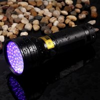 Alonefire 8W 3XAA Alumínio Invisível Blacklight Marcador de Tinta 51LED 51 LED UV Ultra Violeta Lanterna Tocha Lâmpada de Luz 3AA