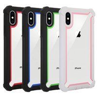 For Iphone XR Case Full- Body Clear Soft TPU Hard PC Back Cov...