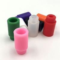 Puntali in silicone per silenziatori Puntali in silicone colorati monouso Suggerimenti per test in caucciù Cap Atlantis Mini subtank plus Subtank / Subox Mini