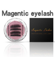 Newest Triple 3D Mink Hair Magnetic Eyelashes Magnet Magnetic Lashes False Eyelashes Magnetic Eye Lashes Makeup