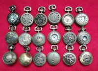 Wholesale 50pcs lot Mix 18 Designs Case Dia 2. 5CM Pendant Ch...