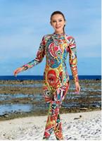 Дайвинг костюм женский теплый серфинга одежда с длинными рукавами сиамские солнцезащитный крем Национальный ветер водонепроницаемый мать подводное плавание костюм