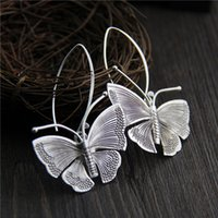 designer jewelry fashion charm 925 sterling silver earring w...