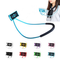 Lazy Hanging Neck Phone Stands Necklace Cellphone Support Br...