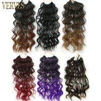 Ombre Crochet Braids VERVES 35 strands pack 14 inch, small cu...
