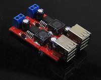 Freeshipping 1 pcs Dual USB 9 V / 12 V / 24 V / 36 V para 5 V 3A DC-DC carregador de carro módulo de alimentação