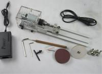 Mini torno de pulido máquina pulidora de mesa Mini bricolaje madera torno envío rápido