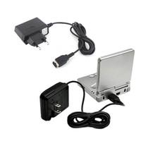 미국 EU 플러그 홈 여행 벽 충전기 Nintend DS NDS 게임 보이 어드밴스 GBA SP에 대 한 케이블로 전원 공급 장치 AC 어댑터 높은 품질 빠른 선박