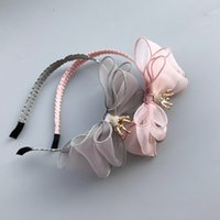 2018 New Crown baby headbands multilayer Bowknot Beaded Crow...