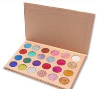 CLEOF Kosmetik Glitter Lidschatten-Palette 24 Farben Make-up Lidschatten-Palette
