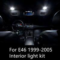 Shinman 14pcs خالية من الأخطاء LED الداخلية الخفيفة كيت لسيارات BMW 3 سلسلة E46 323i 325i 328i 330i 1999-2005 سيارة الداخلية الخفيفة