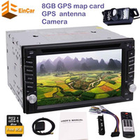 Backup camera+ 2din autoradio in dash car CD DVD player headu...