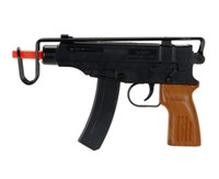 Spetsnaz Uzi Scorpion Spring Powered Airsoft Gun Tactical  -  Black