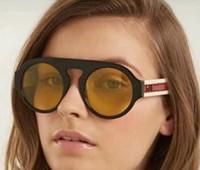 Nouveau Designer 0256S lunettes de soleil femmes marque ronde style d été  rectangle plein cadre 02941d49b89b