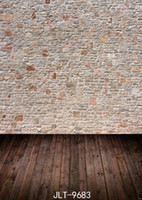 brick wall photography backdrops wooden floor 3d backgrounds...