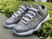 Best Quality 2019 11 Low Cool Grey 11S Basketball Shoes Snea...