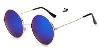 DHLEMS 무료 Vidano 광학 프레임 라운드 금속 선글라스 Steampunk 남성 여성 안경 브랜드 디자이너 레트로 빈티지 안경 Clear Len UV400