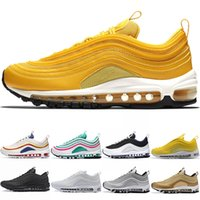 Designer 97 Men Women Mustard Running Shoes South Beach Yell...