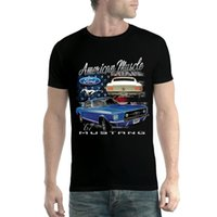 Ford Mustang 1967 Voiture Classique Homme T-shirt XS-5XL