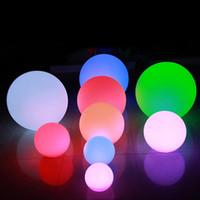 قاد الاضواء 3D السحرية القمر LED ليلة 12-30cm ضوء القمر مكتب فانوس مصباح القمر USB قابلة للشحن 7 ألوان ستبليس للديكور