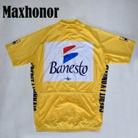 cycling jersey classic jersey road red yellow Cycling Clothi...